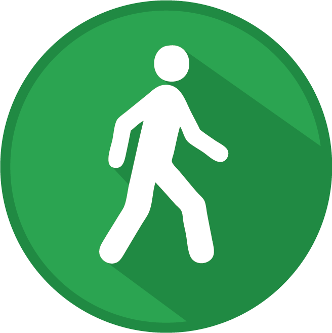 Transport: walk